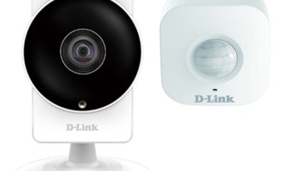D-Link 超廣角AC無線網路攝影機+偵測感應器智慧家庭組