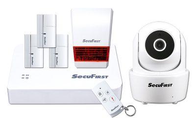 SecuFirst SHC-GA12 智能家居行動監控室內旋轉組合包