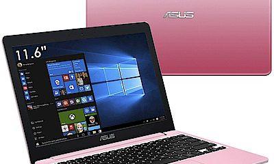 ASUS E12 E203 11.6吋筆電(N3350/32G/4G/甜心粉