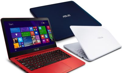 ASUS L402 14吋四核筆電(N3450/32G/4G/送Office365/藍白紅任選
